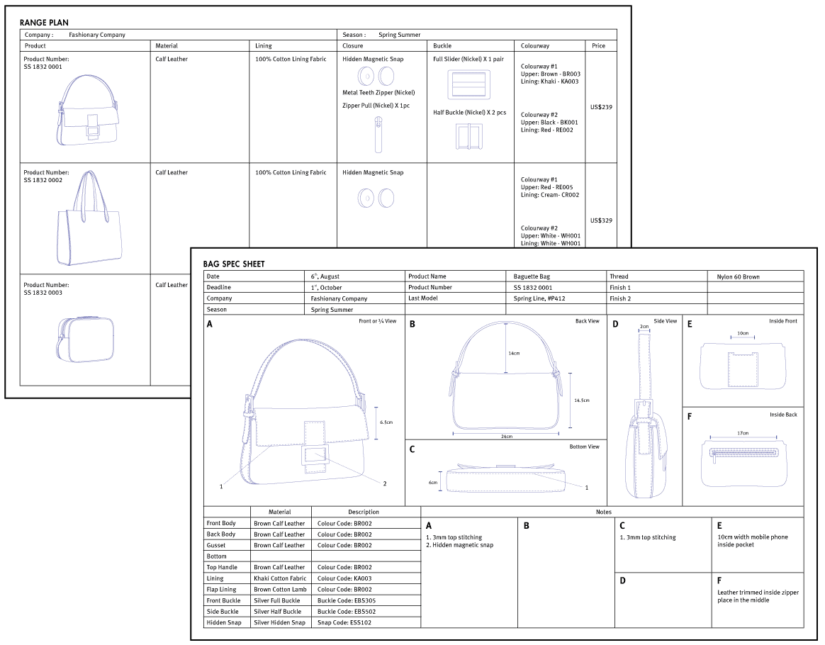 Download Templates From Fashionary