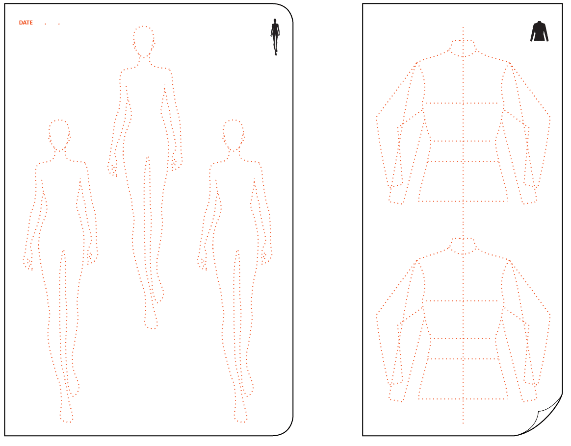 Download Templates From Fashionary - Template invoice free silhouette online store