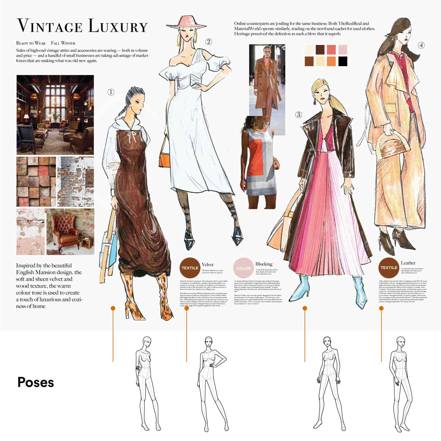 Poses For Fashion Illustration Womens Edition Fashionary