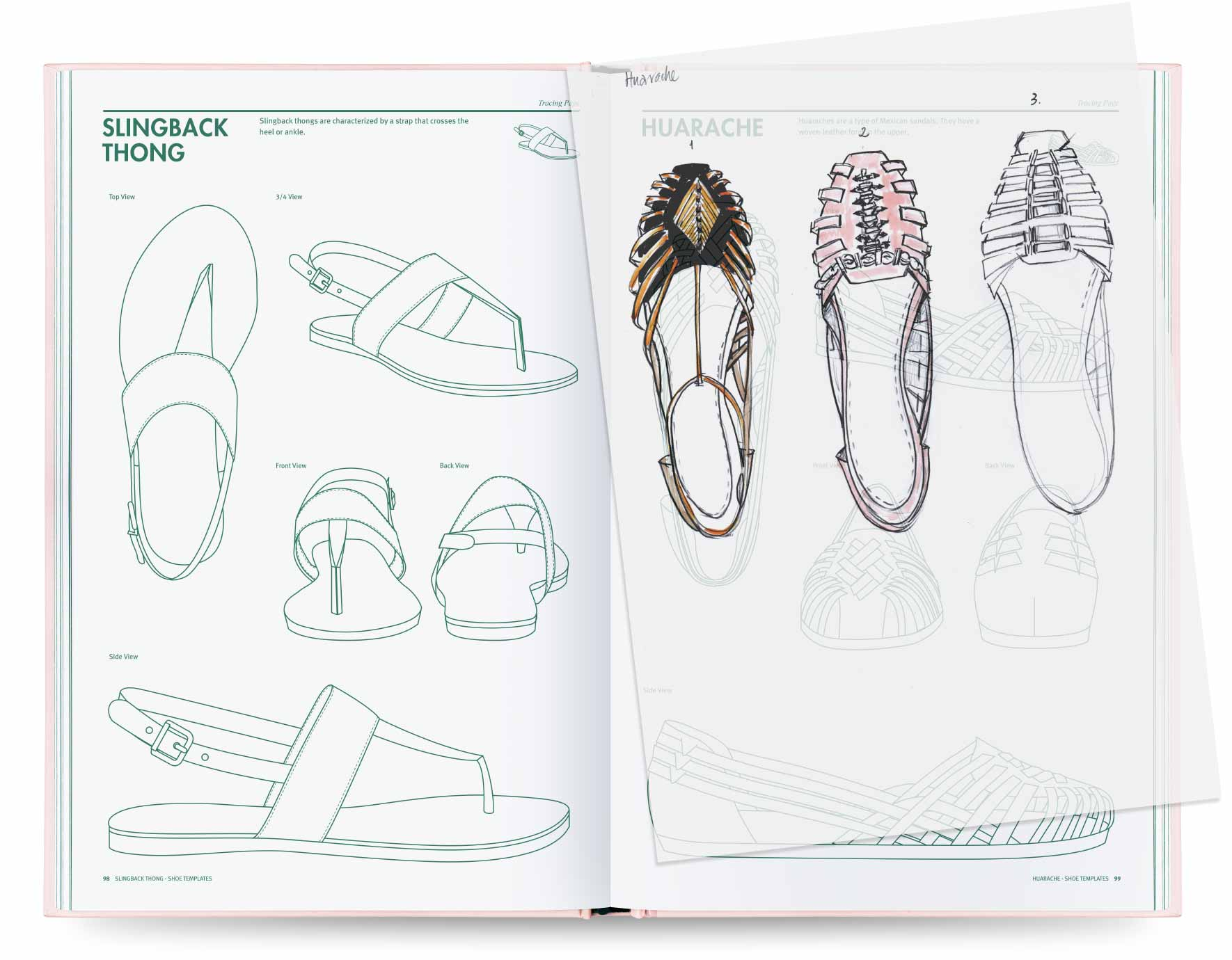 Well known Shoe Design by Fashionary PB14