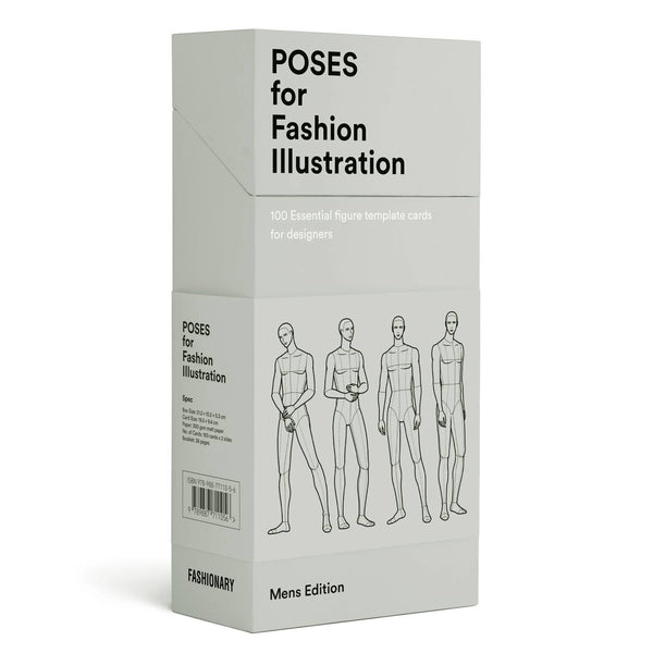 Poses for Fashion Illustration - Mens