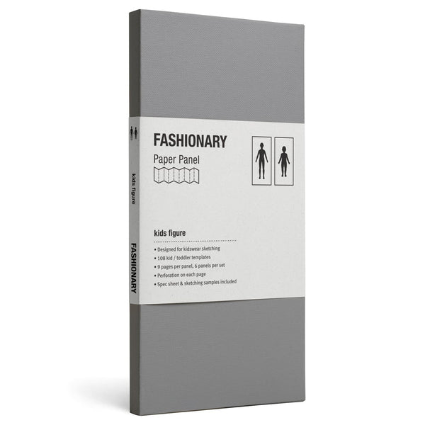 Panel Kids Figure - Fashionary  - 1