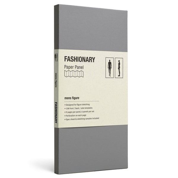 Panel Mens Figure - Fashionary  - 1
