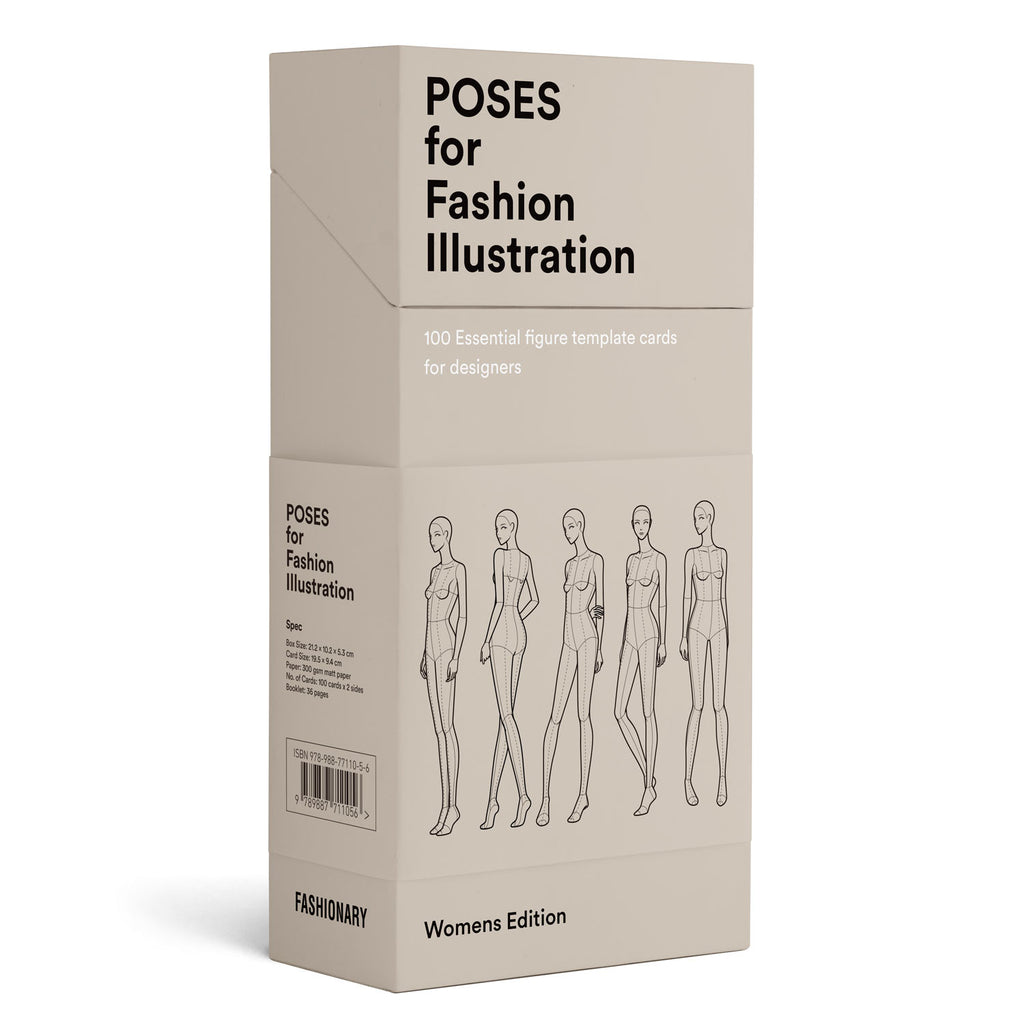 Poses for Fashion Illustration - Womens