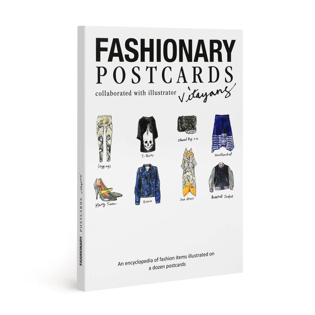 Postcard Book by Vita Yang - Fashionary  - 1