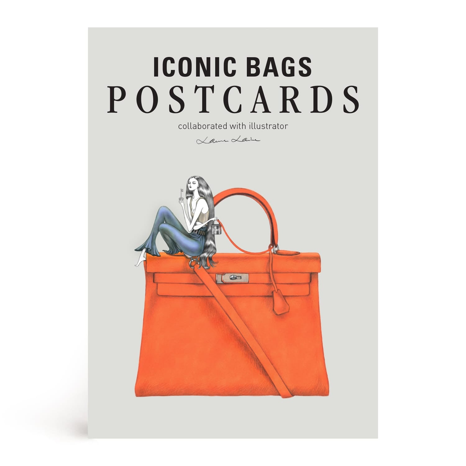 fb32fad815 Iconic Bags Postcard Book Illustrated by Laura Laine – Fashionary