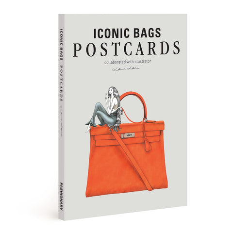 Iconic Bags Postcards Illustrated by Laura Laine