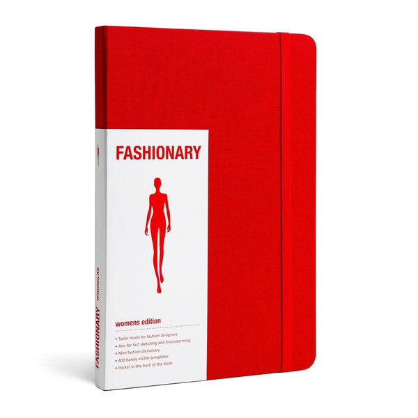 Womens Red A5 - Fashionary  - 1