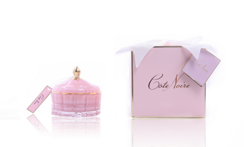 Art Deco Sviečka Limited Edition - Pink Champagne