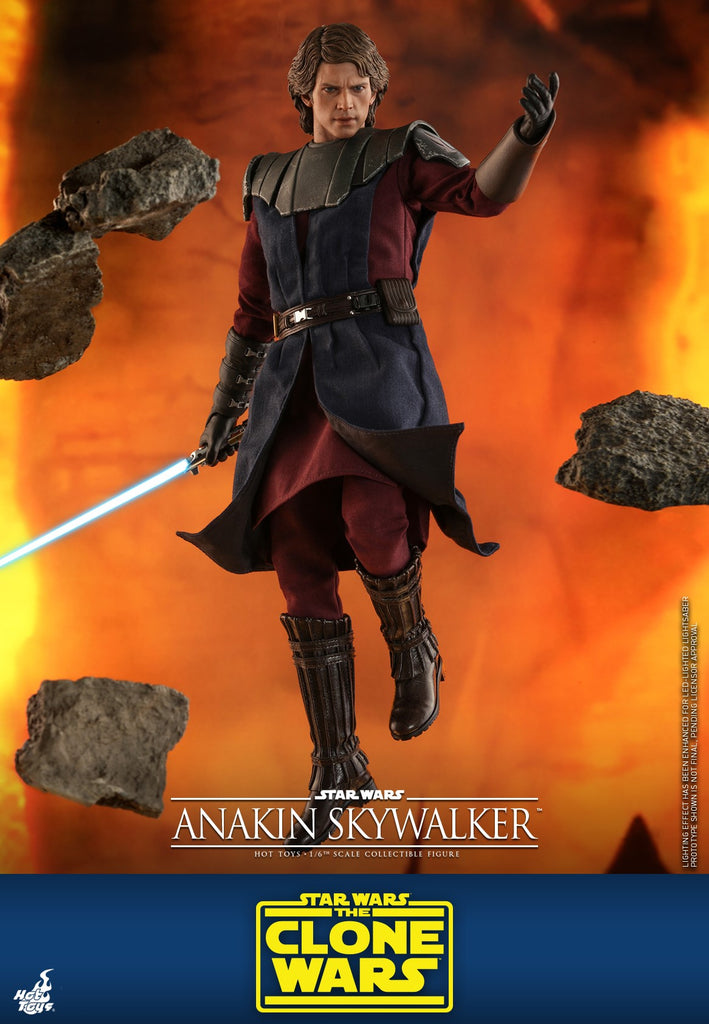 Anakin Skywalker: Star Wars: Clone Wars: TMS19: Hot Toys-(1/6) Sixth Scale-Hot Toys-Planet Action Figures