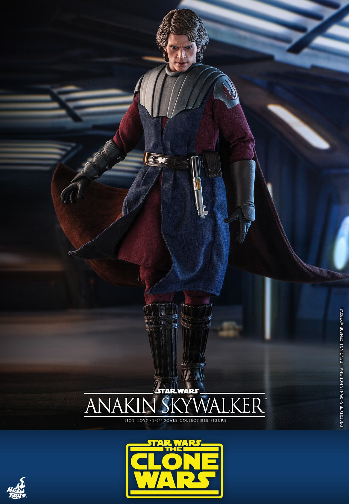 ANAKIN SKYWALKER: STAR WARS: CLONE WARS: TMS019: HOT TOYS-(1/6) Sixth Scale-Hot Toys