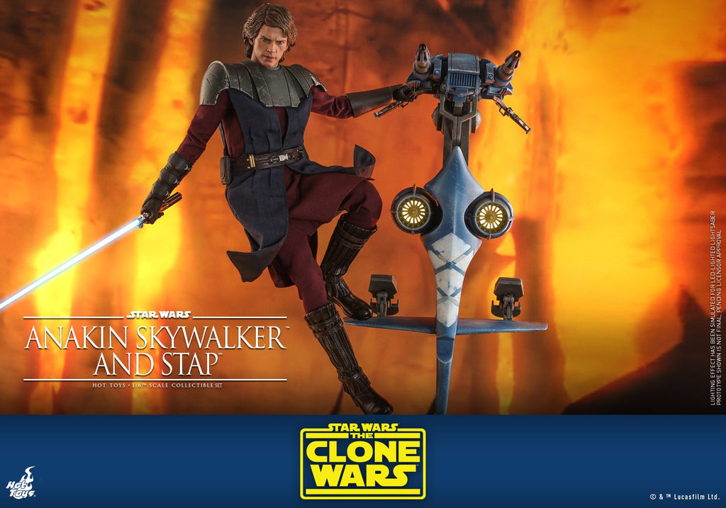 Anakin Skywalker: And Stap: Star Wars: Clone Wars: TMS20
