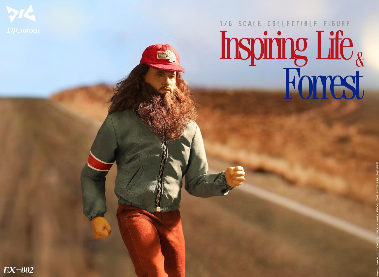 Run Forrest: EX002: DJ-CUSTOM: Sixth Scale Figure