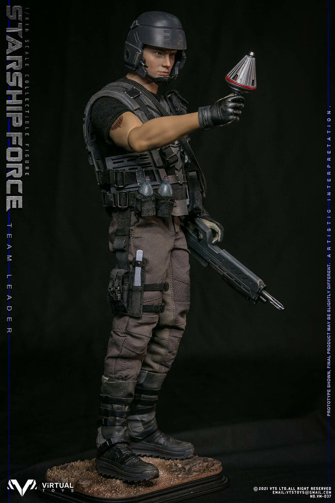 Starship Force Team Leader: Deluxe: VTS Toys: VM037: Sixth Scale