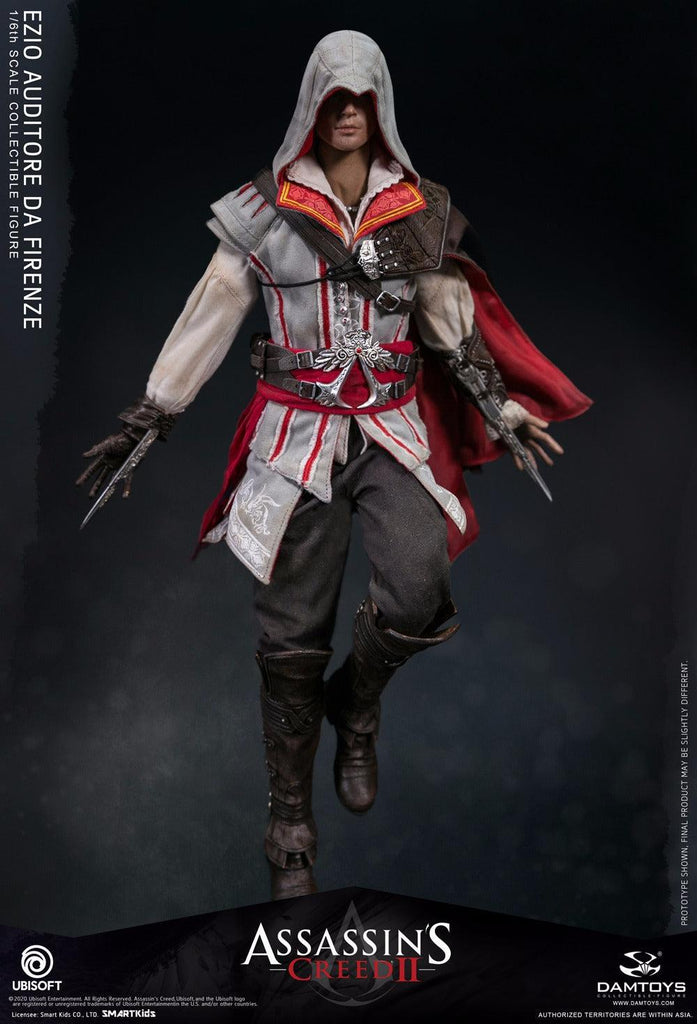 Ezio: Assassins Creed Ii: Dms012-(1/6) Sixth Scale-DamToys-Planet Action Figures