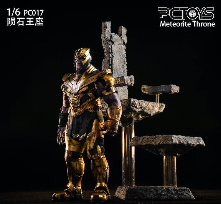 The Meteorites Throne: PC017: PC Toys: Sixth Scale