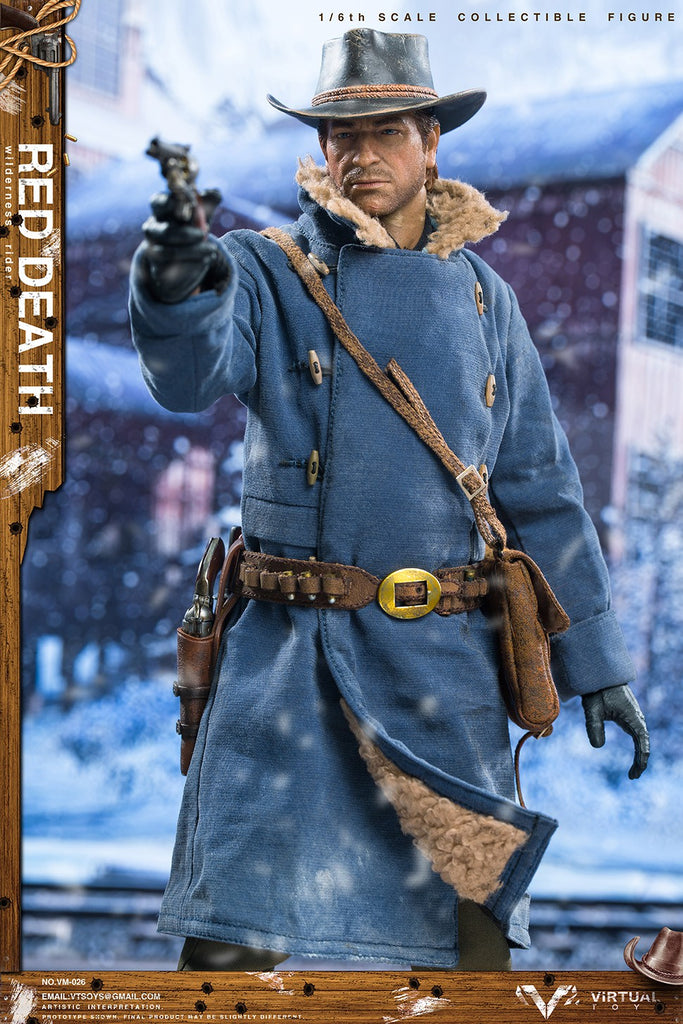 Wilderness Rider: Red Death: Vm-026: Vts Toys: Sixth Scale