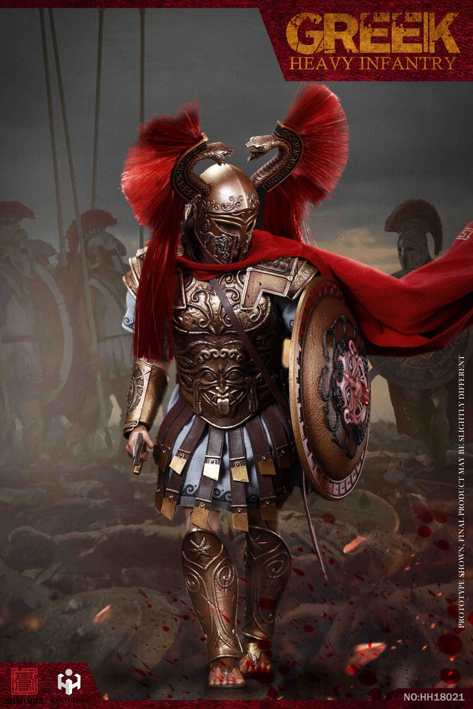 Greek Heavy Infantry: Imperial Army: HH18021: Sixth Scale Figure