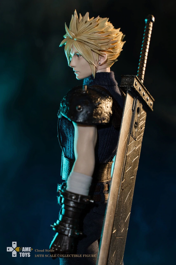 Cloud Strife: With Bike: GT002C: Sixth Scale Figure