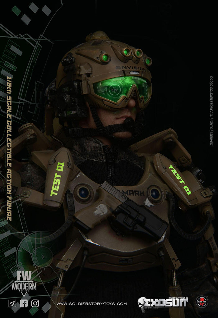 Test-01 Armor Suit: Exo Skeleton: SS122: Soldier Story: Sixth Scale Figure