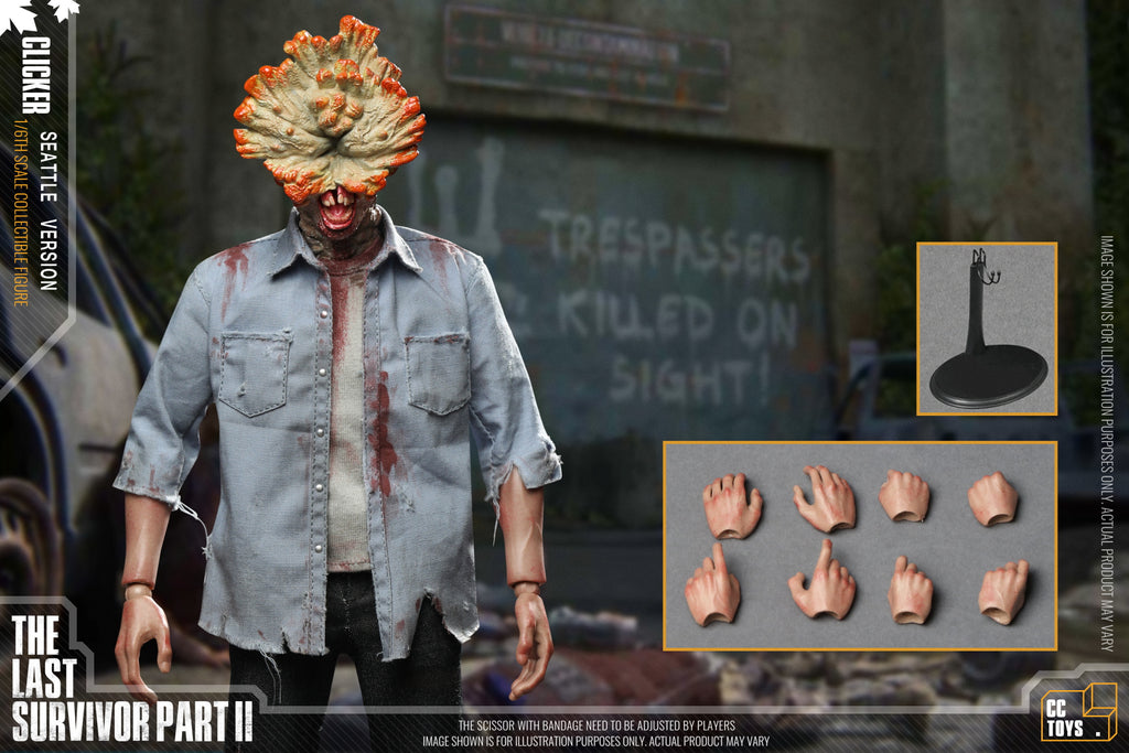 The Last Survivor: Noisemaker: Cctoys: Sixth Scale Figure