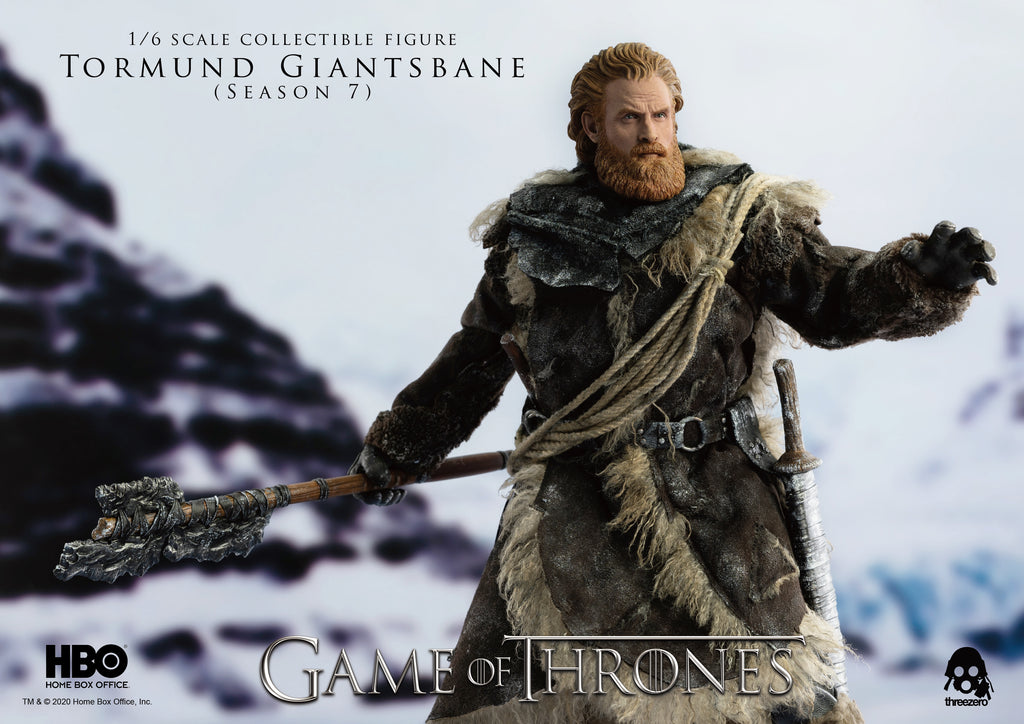 Tormund Giantsbane: Game Of Thrones: 3z0106: Threezero