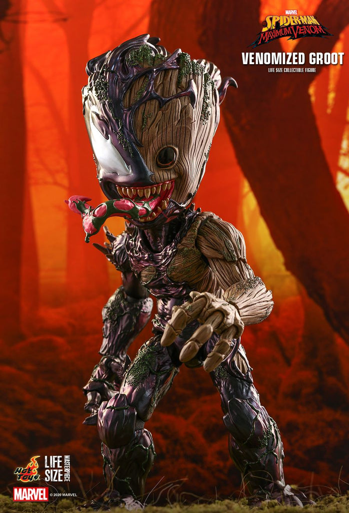 Venomized Groot: Spider-Man: lMS14: Hot Toys