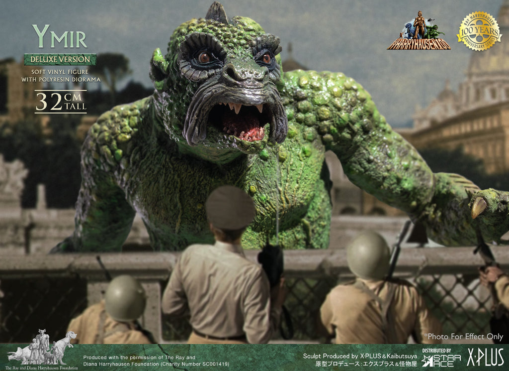 Ymir: Deluxe Version: 100th Anniversary: Ray Harryhausen: SA9022: Vinyl Statue