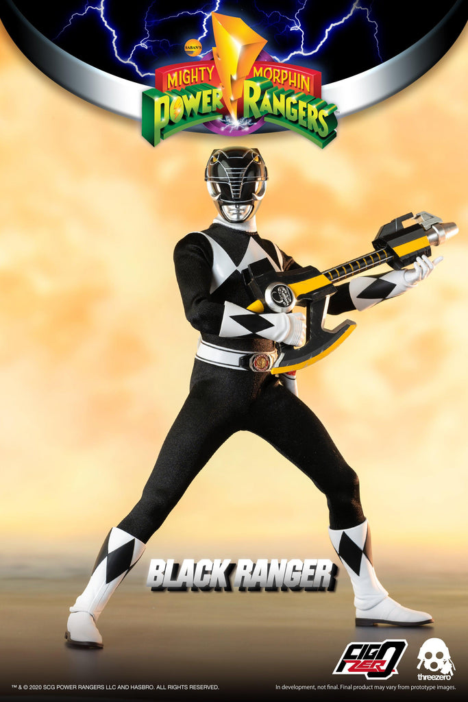 Mighty Morphin Power Rangers: Black Ranger: 3Z0197: ThreeZero