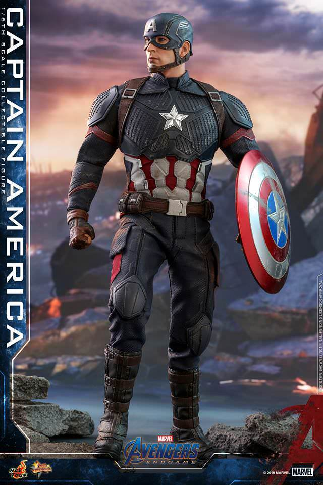 Captain America: Avengers: End Game: MMS536-Sixth Scale Figure-Hot Toys-Planet Action Figures