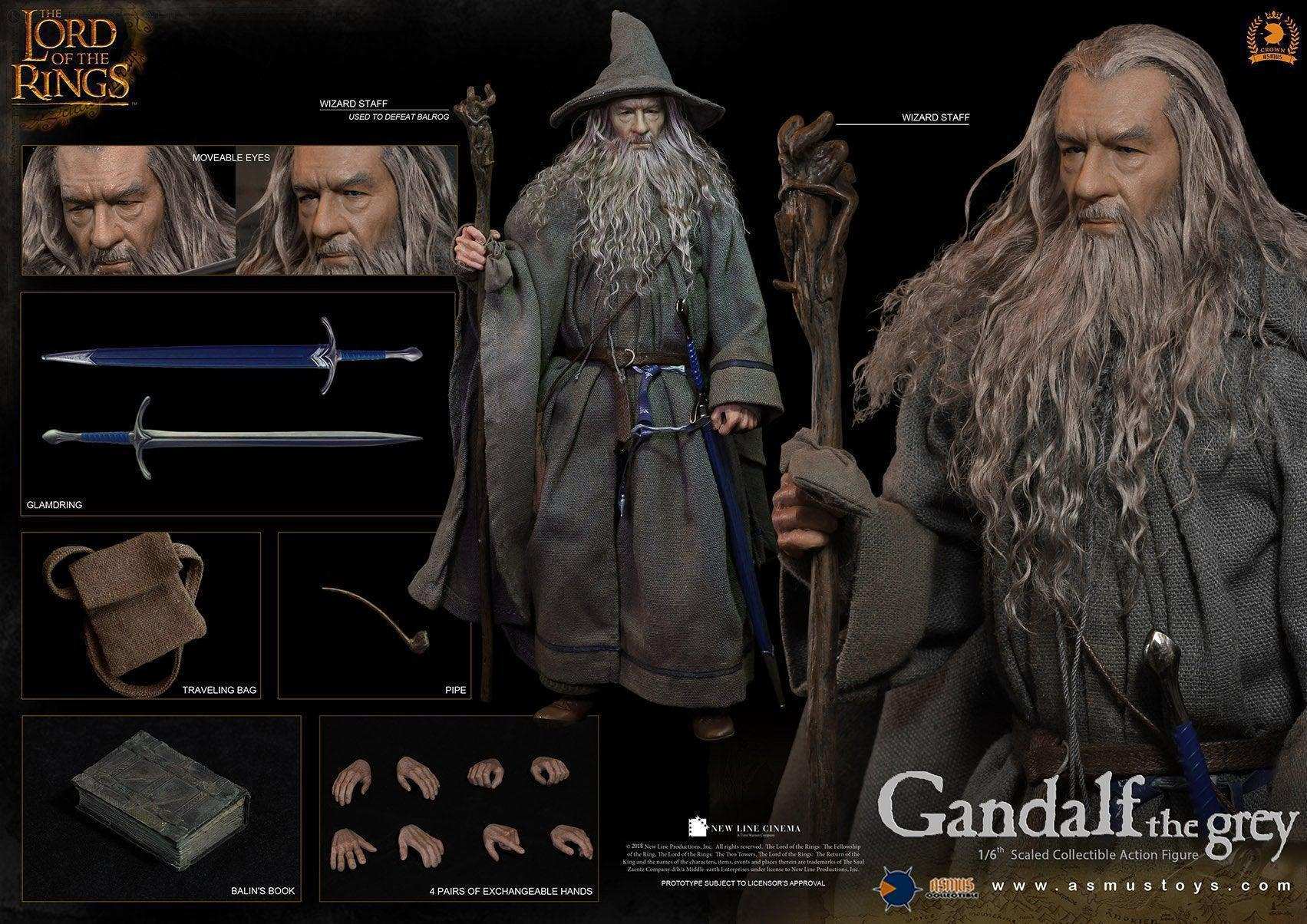 Gandalf The Grey: Lord Of The Rings: CRW001: Crown Series