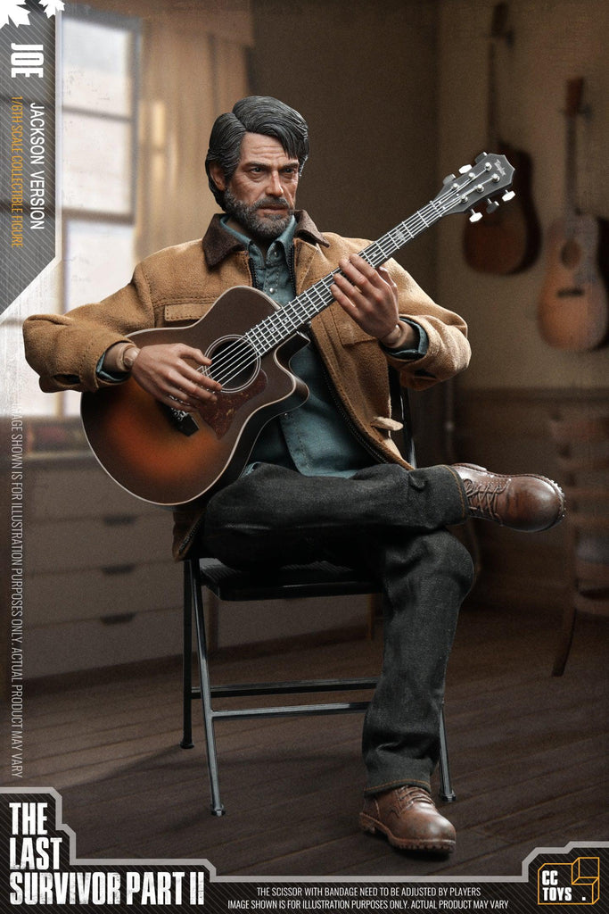 THE LAST SURVIVOR: THE MAN: CCTOYS: SIXTH SCALE FIGURE-(1/6) Sixth Scale-CCCTOYS