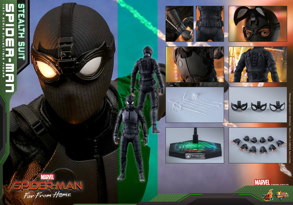 Spider-Man: Stealth Suit: Standard: MMS540: Marvel