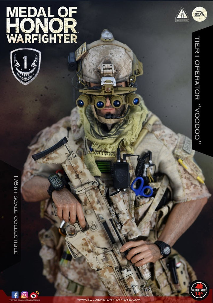 Navy Seal Tier One Operator: Voodoo: Medal Of Honor: Soldier Story
