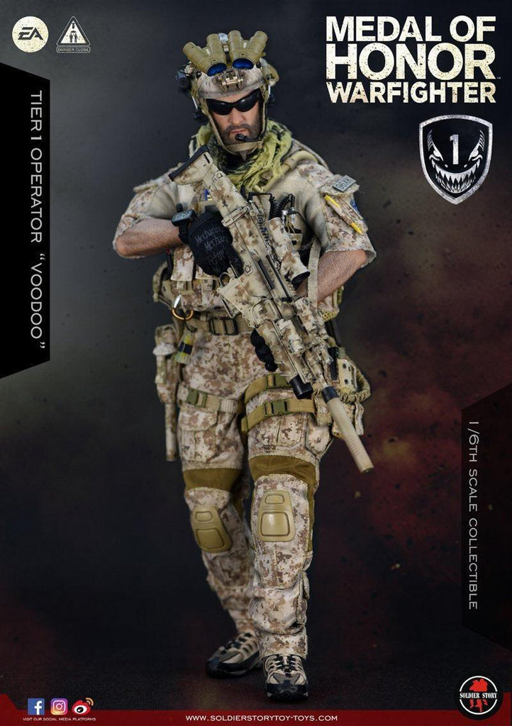 Navy Seal Tier One Operator: Voodoo: Medal Of Honor: Soldier Story-(1/6) Sixth Scale-Soldier Story-Planet Action Figures