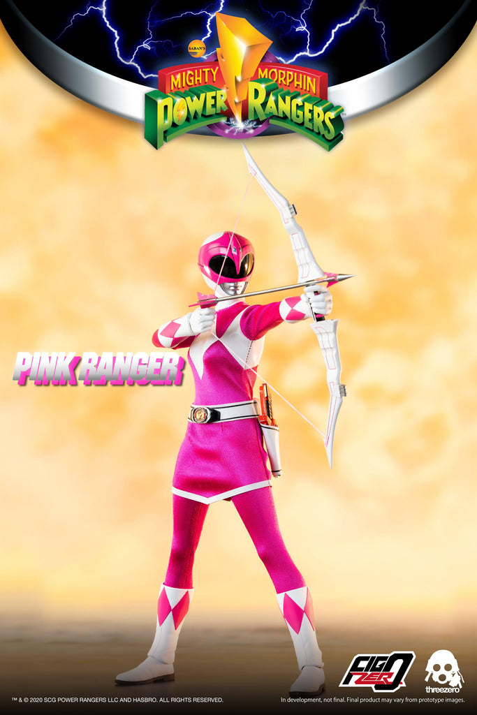 Mighty Morphin Power Rangers: Pink Ranger: 3Z0196: ThreeZero
