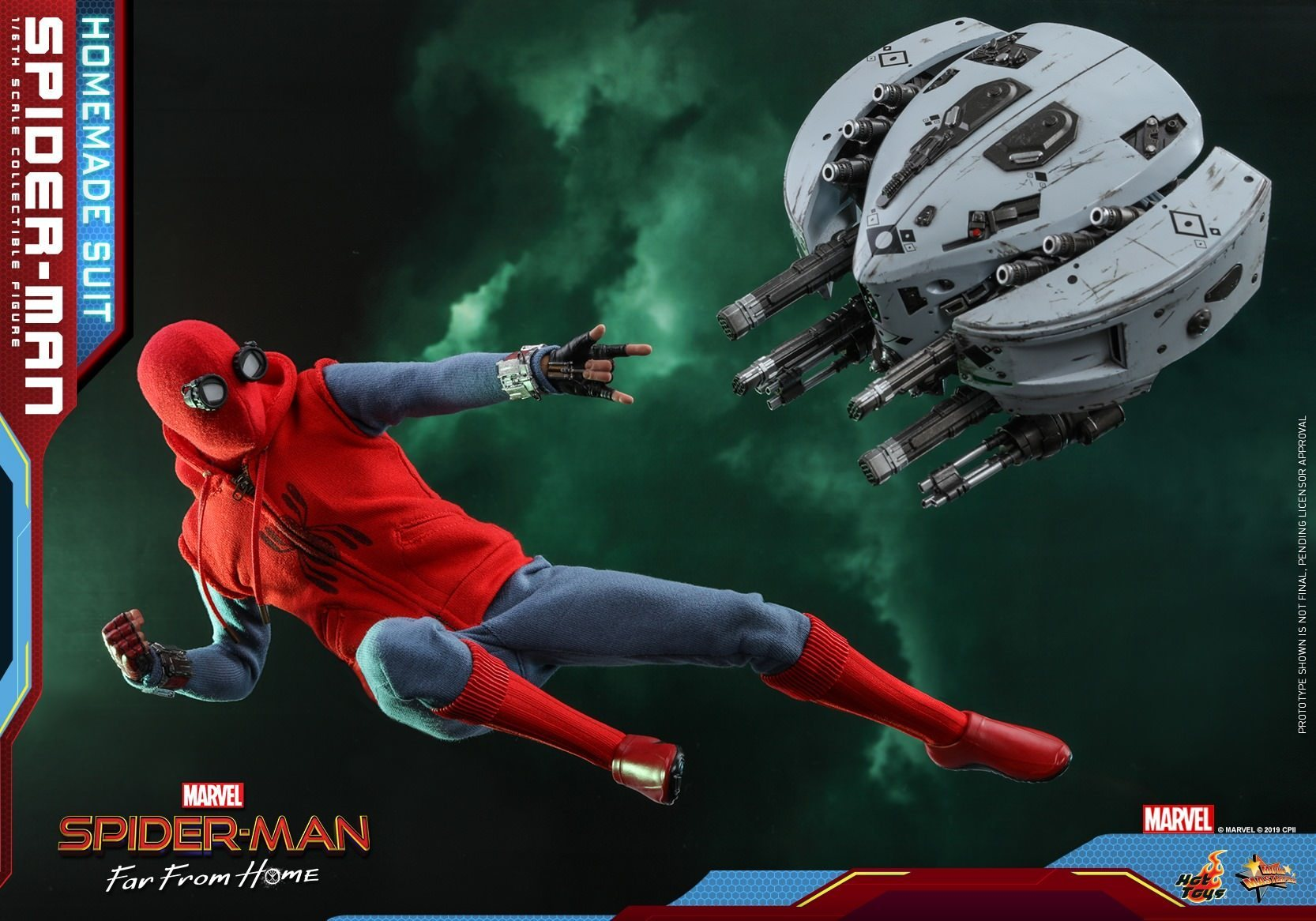 Spider-Man: Homemade Suit: Far From Home: MMS552