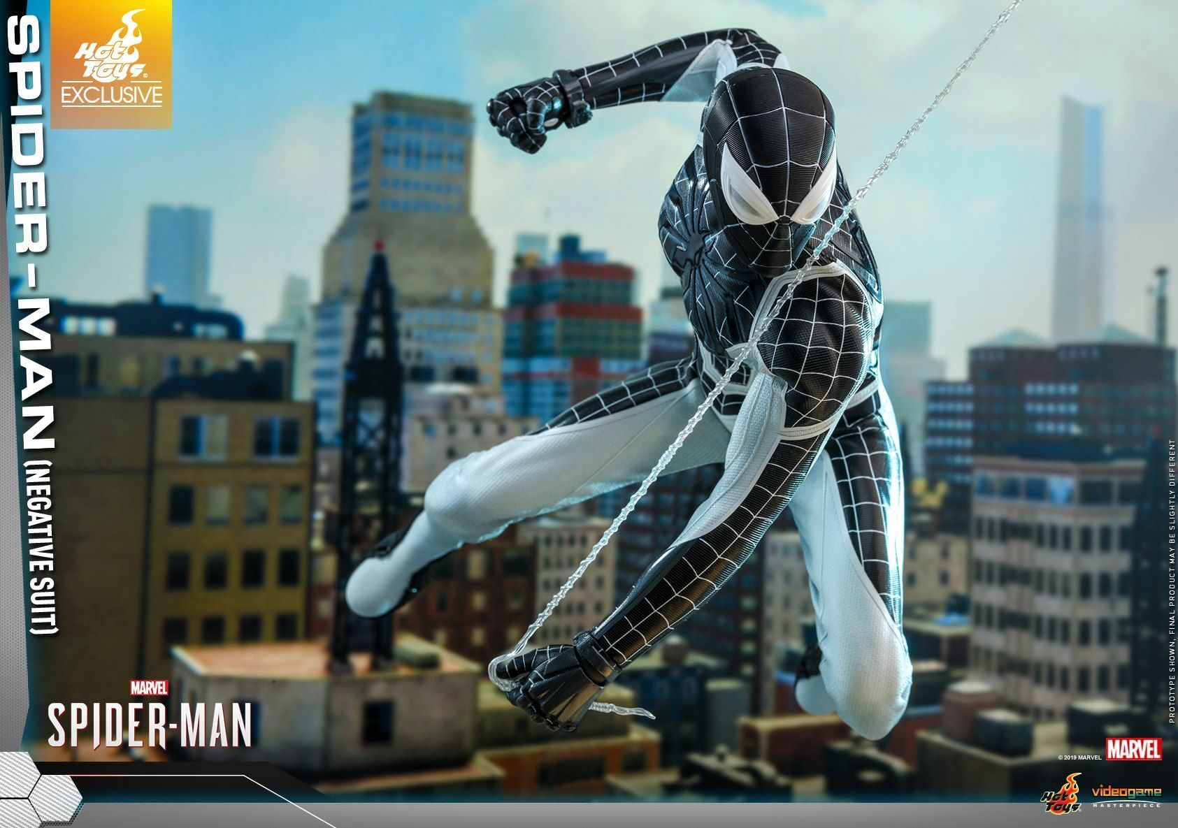 Spider-Man: Negative Suit: Exclusive: VGM36