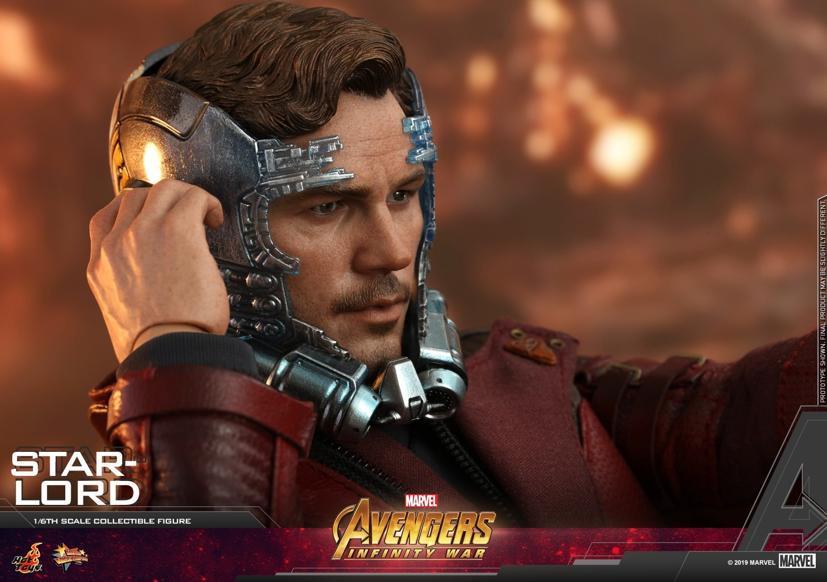 Star Lord: Avengers: Infinity War: MMS539: Hot Toys