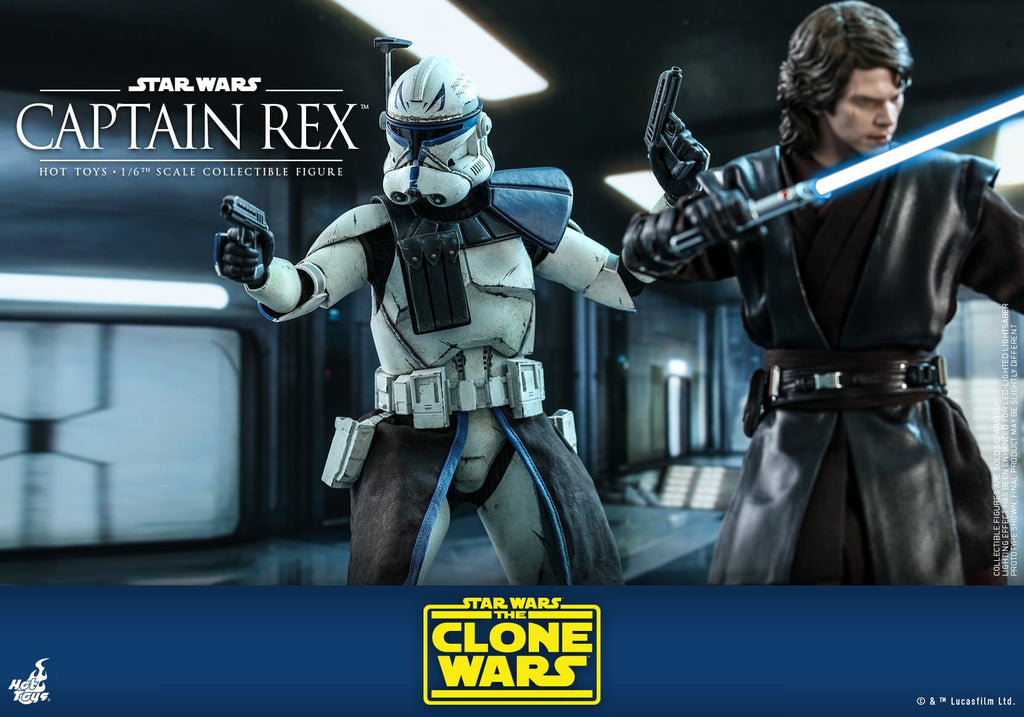 Captain Rex: Star Wars: The Clone Wars: TMS18: Hot Toys