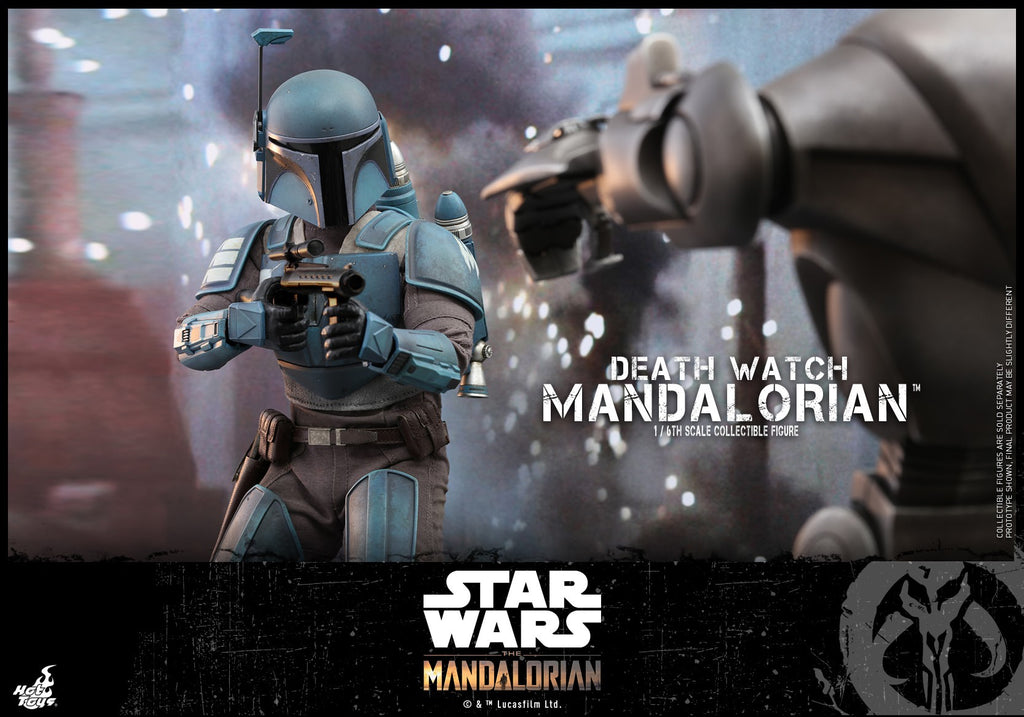 Death Watch Mandalorian: Star Wars: The Mandalorian: TMS026: Hot Toys