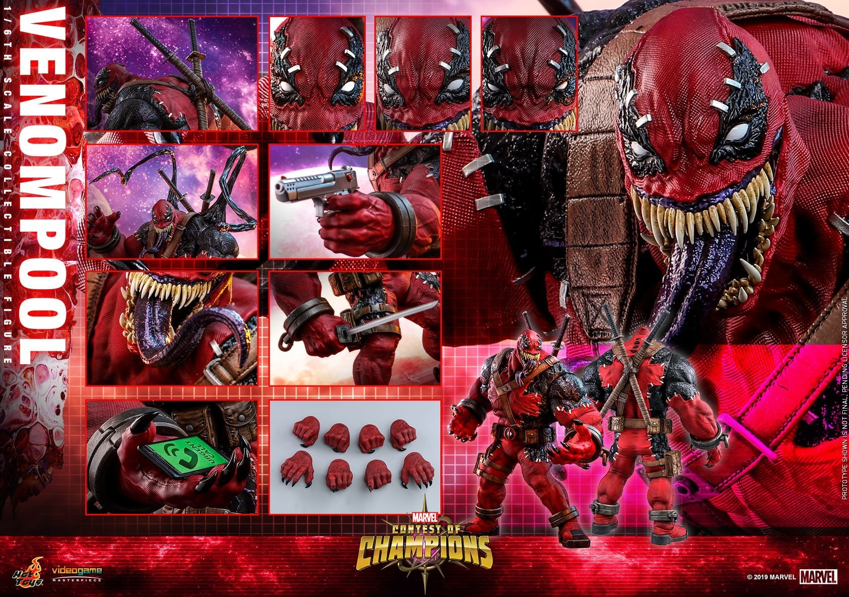 Venompool: Marvel Contest Of Champions: VGM35