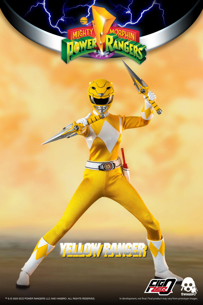 Mighty Morphin Power Rangers: Yellow Ranger: 3Z0198: ThreeZero