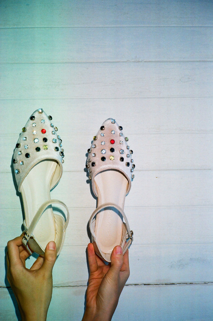 Twinkle Strappy Shoes by Stolen Studios - Stolenstores