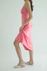 Ms. Valentine Silk Dress - Blush