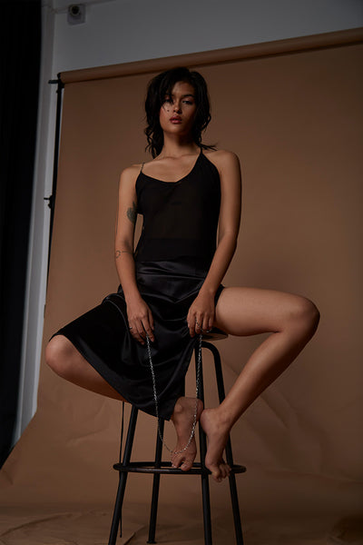 Cupid High Slit Skirt - Stolen Studios x Pattaraphan