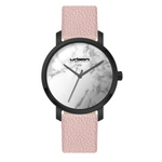 Load image into Gallery viewer, Berlin Urban Watch UW507 - Black White Marble/Pink - URBAN WATCH