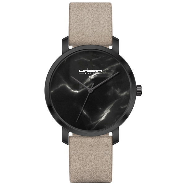 Berlin Urban Watch UW518 - Black Black Marble/Gray - URBAN WATCH