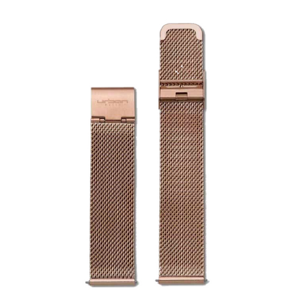 Paris Strap Rose Gold Mesh - URBAN WATCH