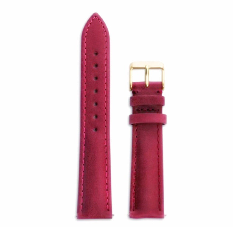 Paris Strap Cherry/Rose Gold - URBAN WATCH